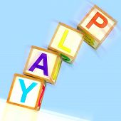 Play Word Show Entertainment Enjoyment And Free Time