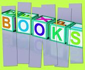 Books Word Shows Novels Non-fiction And Reading