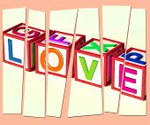 Love Letters Show Romance Affection And Devotion