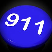 Nine One Switch Shows Call Emergency Help Rescue 911