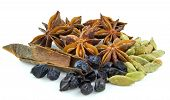 stock photo of barberry  - star anise  - JPG