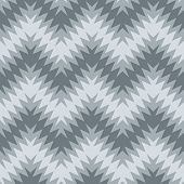 Blurry Zigzag in Grey