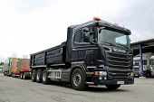 Scania R580 Euro 6 V8 Construction Truck