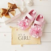 baby shower decoration - it is a girl