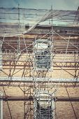 scaffold, Building under construction, engineering
