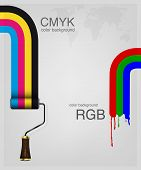 CMYK and RGB vector