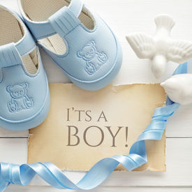 picture of baptism  - baby shower decoration  - JPG