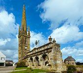 Arc De Triomphe In Sizun. Brittany, France.