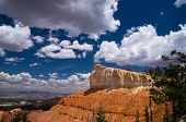 Summer Clouds Over Bryce Canyon