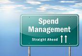 Highway Signpost Spend Management