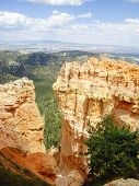 Pillars Of Rock At Bryce Canyon