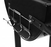 Barbecue grill close-up