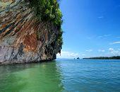 sea landscape in Thailand, Krabi