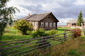 Old Wooden House In North Russia