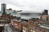 stock photo of west midlands  - Birmingham skyline seen from Digbeth - JPG
