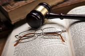 stock photo of law-books  - Law concept - JPG