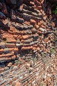 Bricks Wall Collapse Building