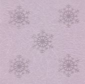 Holiday pink packing Paper with snowflakes