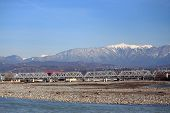 picture of sochi  - river Mzymta in Adler - JPG