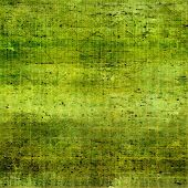 Grunge background with vintage and retro design elements. With different color patterns: yellow; brown; green