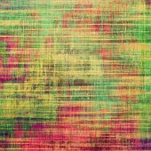 Designed grunge texture or background. With different color patterns: yellow; green; orange; violet