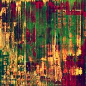 Grunge texture, may be used as background. With different color patterns: green; orange; red; yellow