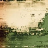Vintage texture. With different color patterns: gray; green; brown; yellow