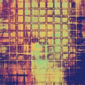 Old Texture or Background. With different color patterns: blue; green; purple (violet); orange; yellow