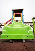Slide On An Empty Playground