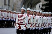 Bulgarian Troopers Standing