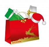 Christmas envelope with gift packs
