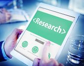 Digital Online Website Research Concept