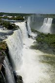 Постер, плакат: Garganta Del Diablo At The Iguazu Falls