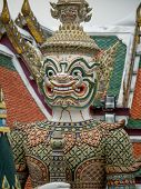 Wat Phra Kaew (the temple in grand palace) in Bangkok Thailand