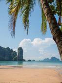 The AoNang beach in Krabi Thailand