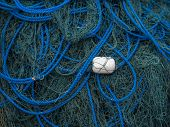 Fishing net in Bali Indonesia