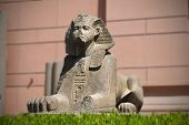 one of the sphinxes