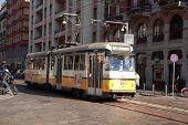 Series 4700 Tram In Milan