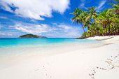 Tropical beach scenery in Thailand