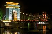 Small Copies Of The World Famous Bridges At Fir Lake In Downtown Guilin