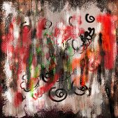 Grunge Graffiti Texture