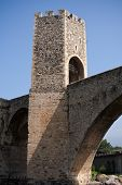 Bridge to Stronghold Besalu, Spain