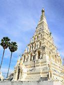 Ancient White Square Pagoda