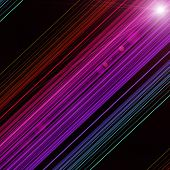 Futuristic Technology Abstract Stripe Background Design With Light