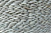 Detail of Stacked Smooth Stones Ideal for Backgrounds