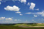 pic of arid  - Arid landscape in Zaragoza province - JPG