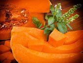 image of abundance  - Edible pumpkin  - JPG