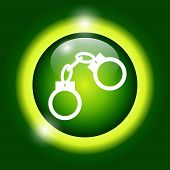 picture of lockups  - handcuffs icon - JPG