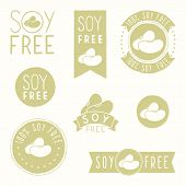 image of hands-free  - Soy free badges - JPG