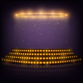 foto of spotlight  - Podium for Performances with Spotlights - JPG